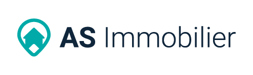 AS Immobilier - logo couleur - long